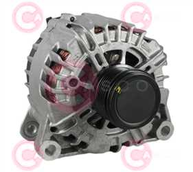 CAL15050 FRONT VALEO Type 12V 150Amp PFR6