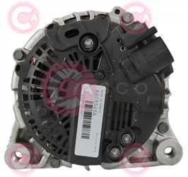 CAL15107 BACK VALEO Type 12V 150Amp PFR6
