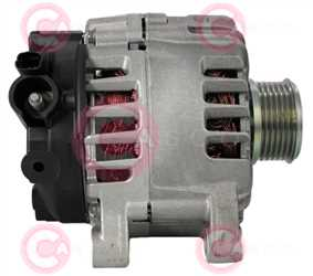 CAL15107 SIDE VALEO Type 12V 150Amp PFR6