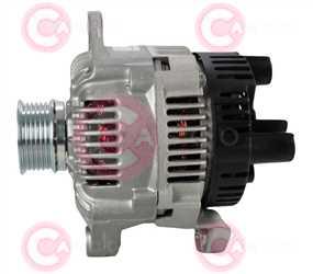 CAL15117 SIDE VALEO Type 12V 80Amp PR6