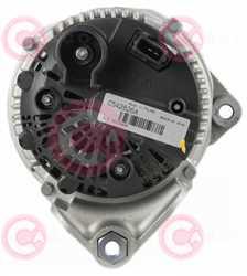 CAL15127 BACK VALEO Type 12V 150Amp PR5