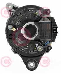 CAL15237 BACK VALEO Type 12V 70Amp PV1