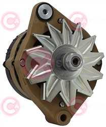 CAL15245 FRONT VALEO Type 12V 50Amp
