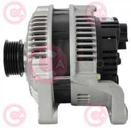 CAL15266 SIDE VALEO Type 12V 120Amp PR5