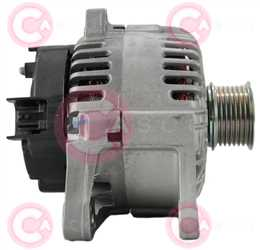 CAL15335 SIDE VALEO Type 12V 110Amp 7Ribs