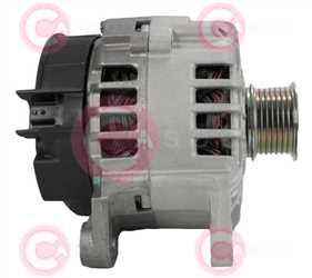 CAL15369 SIDE VALEO Type 12V 120Amp 7Ribs