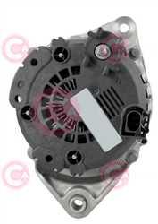 CAL15373 BACK VALEO Type 12V 180Amp PR7