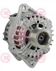 CAL15373 FRONT VALEO Type 12V 180Amp PR7