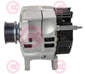 CAL15375 SIDE VALEO Type 12V 90Amp PR6