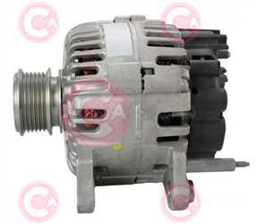 CAL15379 SIDE VALEO Type 12V 110Amp PFR6