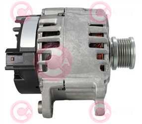 CAL15398 SIDE VALEO Type 12V 180Amp PFR6