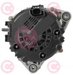 CAL15425 BACK VALEO Type 12V 180Amp PFR6