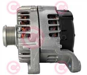 CAL15437 SIDE VALEO Type 12V 230Amp PFR6