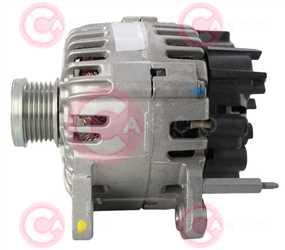 CAL15447 SIDE VALEO Type 12V 110Amp PFR6