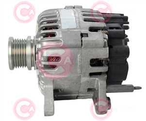 CAL15449 SIDE VALEO Type 12V 110Amp PFR6