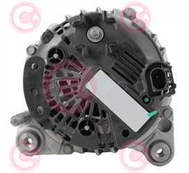 CAL15457 BACK VALEO Type 12V 140Amp PFR6
