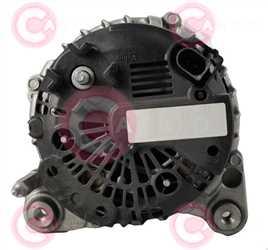 CAL15460 BACK VALEO Type 12V 140Amp PR6