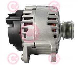 CAL15460 SIDE VALEO Type 12V 140Amp PR6