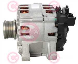 CAL15462 SIDE VALEO Type 12V 150Amp PFR6