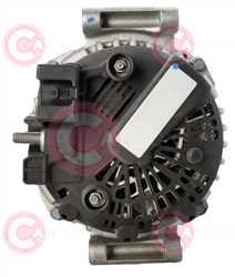 CAL15463 BACK VALEO Type 12V 150Amp PFR6