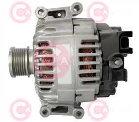 CAL15463 SIDE VALEO Type 12V 150Amp PFR6