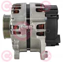 CAL15483 SIDE VALEO Type 12V 180Amp PR5