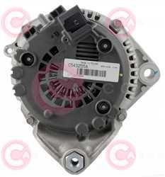 CAL15487 BACK VALEO Type 12V 170Amp PR7