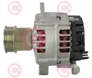 CAL15602 SIDE VALEO Type 24V 80Amp