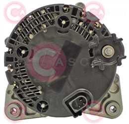 CAL15A22 BACK VALEO Type 12V 180Amp PR6