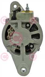 CAL20602 BACK HITACHI Type 24V 35Amp 2Ribs