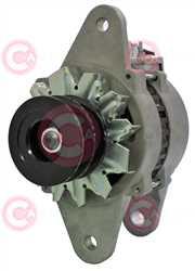 CAL20602 FRONT HITACHI Type 24V 35Amp 2Ribs