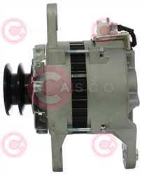 CAL20602 SIDE HITACHI Type 24V 35Amp 2Ribs