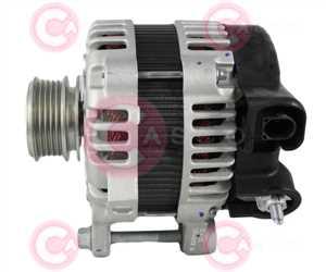 CAL32182 SIDE MANDO Type 12V 130Amp PFR5