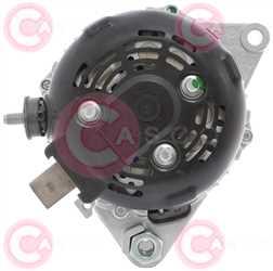 CAL40000 BACK DENSO Type 12V 130Amp PFR5