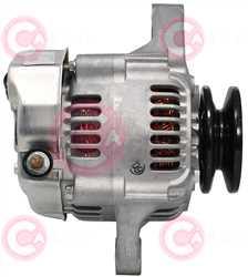 CAL40177 SIDE DENSO Type 12V 60Amp 1Ribs