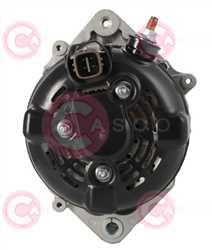 CAL40228 BACK DENSO Type 12V 150Amp PFR6