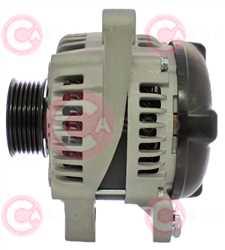 CAL40238 SIDE DENSO Type 12V 130Amp PR6