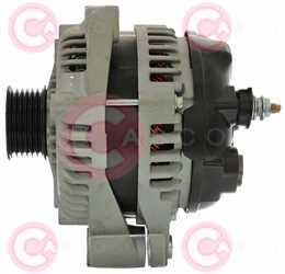 CAL40278 SIDE DENSO Type 12V 150Amp PR6