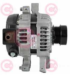 CAL40487 SIDE DENSO Type 12V 80Amp PFR4