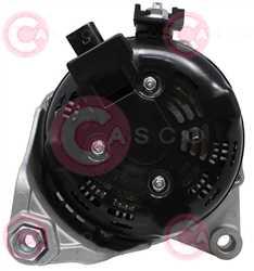 CAL40527 BACK DENSO Type 12V 150Amp PR6