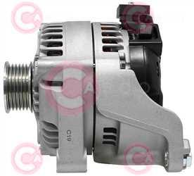 CAL40527 SIDE DENSO Type 12V 150Amp PR6
