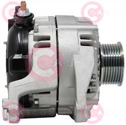 CAL40537 SIDE DENSO Type 12V 160Amp PR7