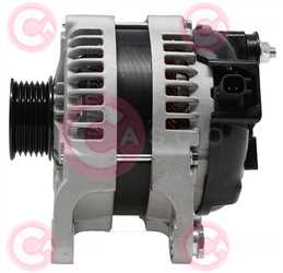 CAL40539 SIDE DENSO Type 12V 150Amp PR6