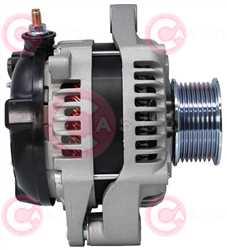 CAL40565 SIDE DENSO Type 12V 150Amp PR8