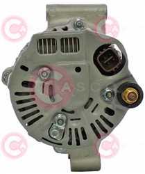 CAL40A18 BACK DENSO Type 12V 80Amp PR7
