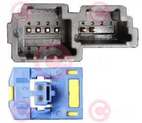 CCC71000 PLUG RENAULT-NISSAN Type 12V