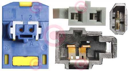 CCC71006 PLUG RENAULT-NISSAN Type 12V