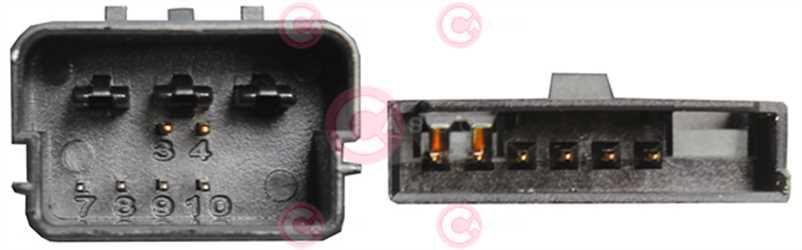 CCC73003 PLUG VAG Type 12V