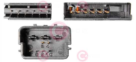 CCC73004 PLUG VAG Type 12V