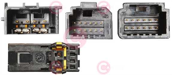 CCC74007 PLUG FIAT Type 12V
